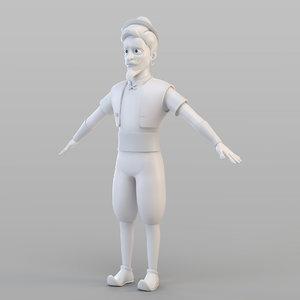 elite man 3D model