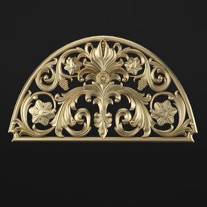 decorative element 3D model