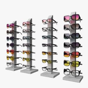 sun glasses rack model