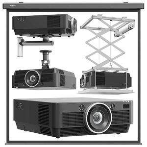 3D projector electronics