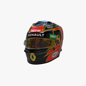 3D model ocon 2020 helmet