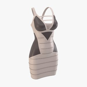 3D model dress real