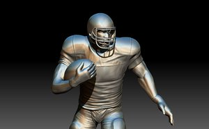 3D footballer poses