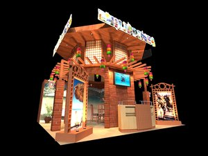 philippines 6 x exhibition 3D model