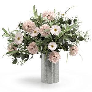 indoor decor bouquet model