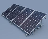 solar panels 36