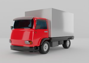 red truck model