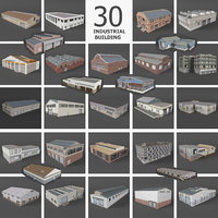29 Industrial Buildings Warehouse Factory Collection