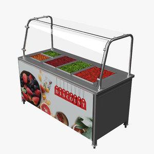 salad buffet model