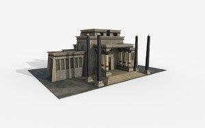 3D games ready model