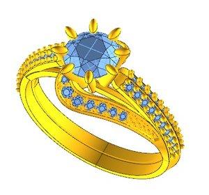 ring jewellery 3D model
