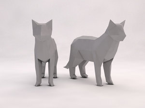 cat version 3D model