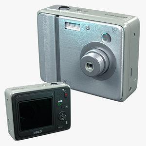 camera realistic model