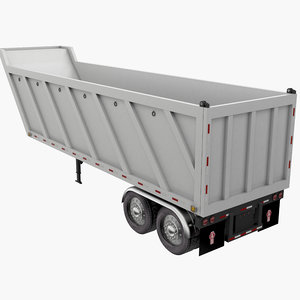 3D trailer tipper