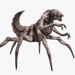 monster rig v1 3D model