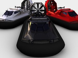3D hovercraft ripsaw howe