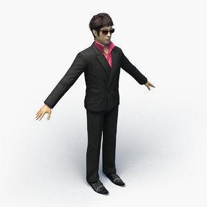 3D boryokudan 0002 model