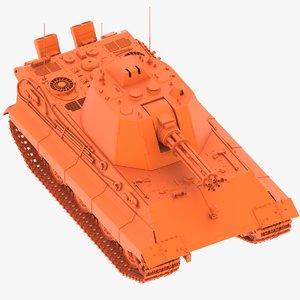 3D gatling model