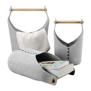 corona basket 3D model