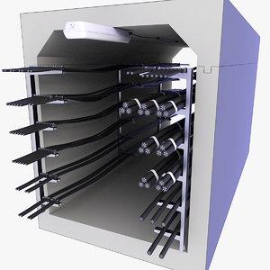 3D concrete tunnel cables technical
