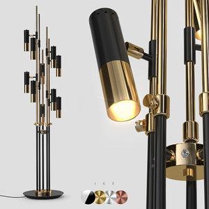 floor light ike 3D model
