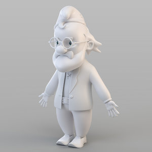 old gnome 3D
