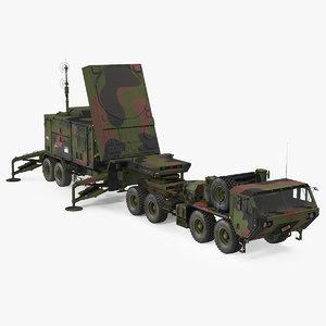 camo hemtt m985 patriot 3D model