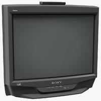Sony KV-27S46 Retro CRT TV with IR Control Off