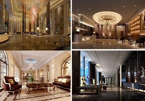 lobby scene interior 3D model