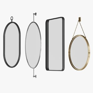 3D waterworks mirrors