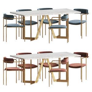 dining table dinning model
