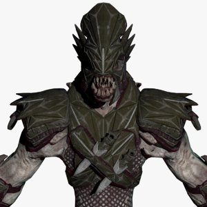 monster creature 3D model