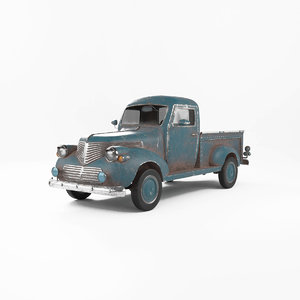 custom pickup 3D model