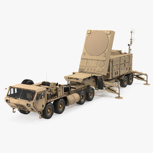 3D model hemtt m985 patriot mpq53