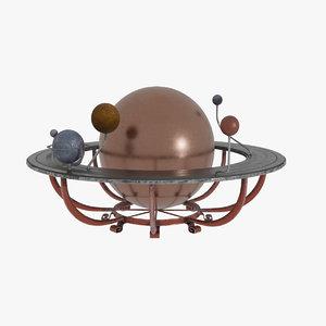 sun planets 3D