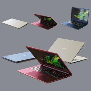3D ultrabook acer swift 3 model