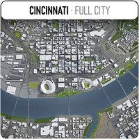Cincinnati - city and surrounding area