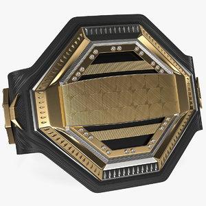 champion belt 3D model