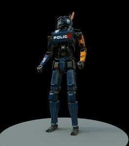 chappie 3D model