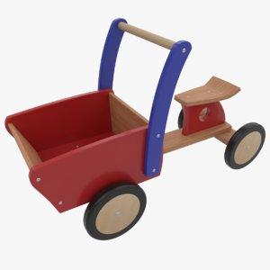 3D model kids cargo bike