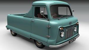3D standard pickup atlas model