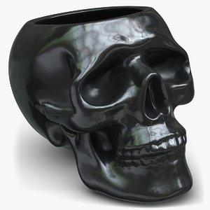 3D vase design pbr model