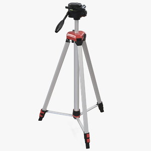 adjustable laser level tripod 3D model