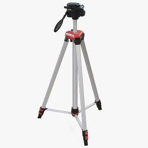 adjustable laser level tripod 3D model
