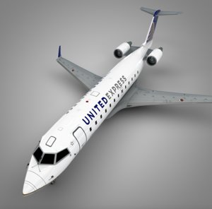 air wisconsin united express 3D
