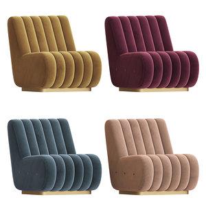3D model sophia sofa