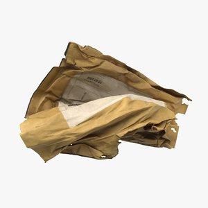 envelope pbr 3D model