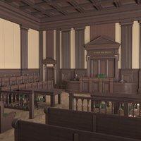 Courtroom Dark