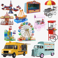 Large Amusement Park Collection