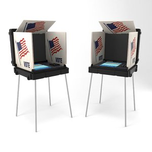 3D voting machine usa
